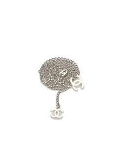 Chanel Cc Chain Belt Silver