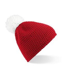 Beechfield Unisex Slopeside Winter Beanie Bobble Hat