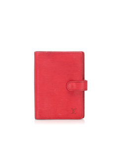 Louis Vuitton Epi Agenda Red