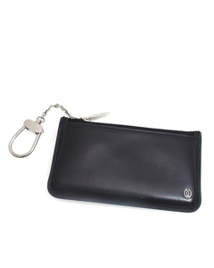 Cartier Pasha Leather Coin Purse Black
