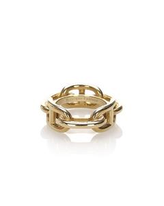 Hermes Regate Scarf Ring Gold