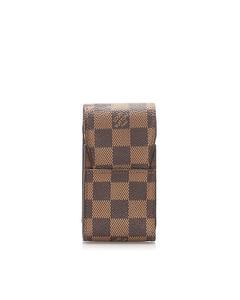 Louis Vuitton Damier Ebene Cigarette Case Brown