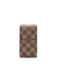 Louis Vuitton Damier Ebene Cigarette Case Brown