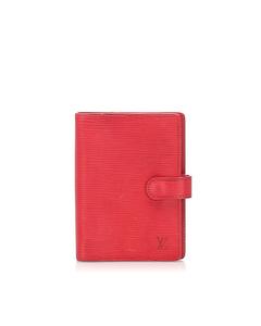 Louis Vuitton Epi Agenda Red