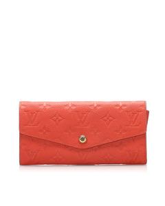 Louis Vuitton Monogram Empreinte Curieuse Long Wallet Orange