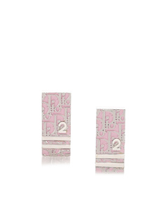Dior Dior Oblique Trotter Earrings Pink