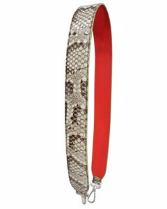 Python Red And Green Shoulder Strap