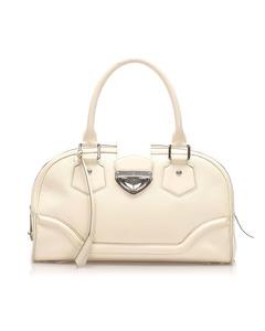 Louis Vuitton Epi Bowling Montaigne Gm White