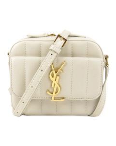 Ysl Toy Vicky Camera Bag White