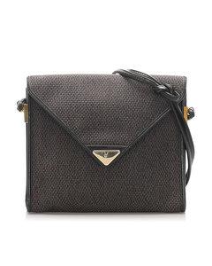 Ysl Canvas Crossbody Bag Gray