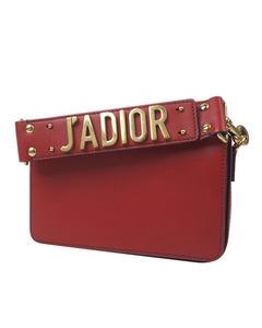 Dior Jadior Leather Handbag Red