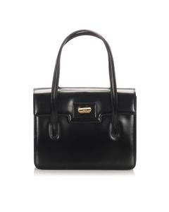 Gucci Leather Handbag Black