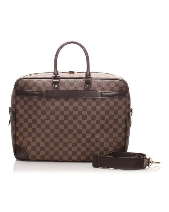 Louis Vuitton Louis Vuitton Damier Ebene Porte-documents Voyage Brown