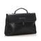 Bottega Veneta Intrecciato Leather Briefcase Black