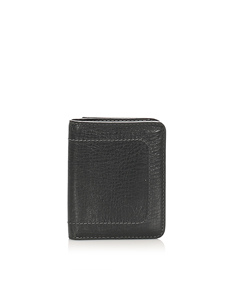 Louis Vuitton Leather Bifold Wallet Black