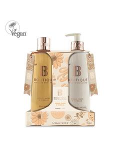 Boutique Amber, Musk & Vanilla Body Duo