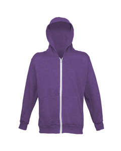 Awdis Childrens Unisex Heather Lightweight Zoodie / Schoolwear / Hooded Sweatshirt / Hoodie