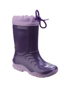Mirak Splash Childrens Warmlined Boot / Girls Waterproof Boots