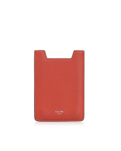 Celine Leather Case Red