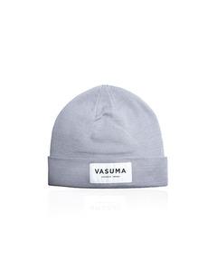 Vasuma Organic Beanie Grey