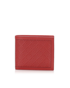 Gucci Diamante Leather Wallet Pink