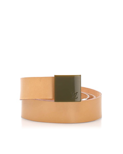 Louis Vuitton Leather Belt Pink