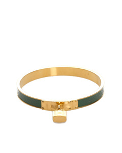 Hermes Kelly Lock Cadena Bracelet Gold