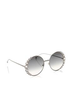 Fendi Round Tinted Sunglasses Black