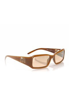 Miu Miu Square Tinted Sunglasses Brown
