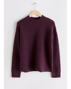 Sweater  Purple