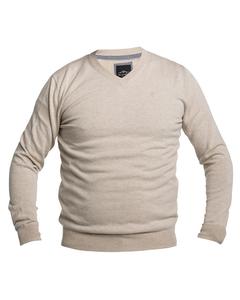 V-neck Sweater Biege