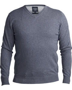 V-neck Sweater Green