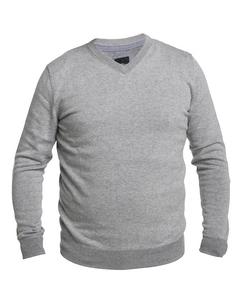 V-neck Sweater Light Grey