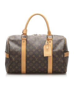 Louis Vuitton Monogram Carryall Brown