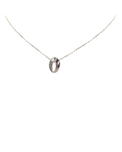 Gucci Silver Pendant Necklace Silver