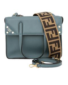 Fendi Small Fendi Flip Bag Blue