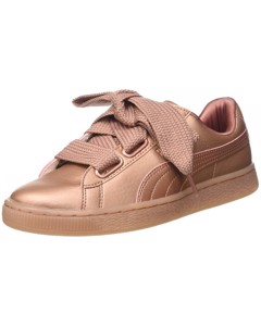 Puma Damen Monochrome Basket Heart WN Sneaker