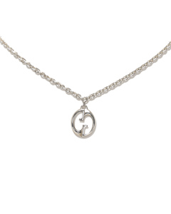 Gucci Interlocking G Necklace Silver
