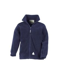 Result Childrens/kids Full Zip Active Anti Pilling Fleece Jacket