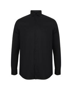 Henbury Mens Long Sleeve Stretch Shirt