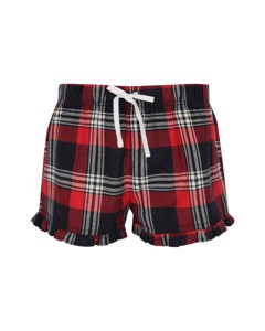 Skinnifit Womens/ladies Tartan Shorts