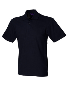 Henbury Unisex Slim Fit Stretch Pique Polo Shirt