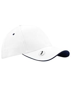 Beechfield Pro-style Ball Mark Golf Baseball Cap / Headwear