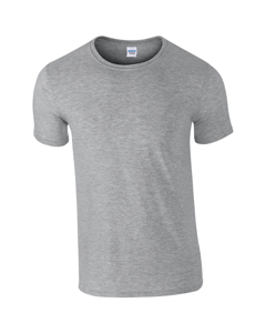 Gildan Mens Short Sleeve Soft-style T-shirt