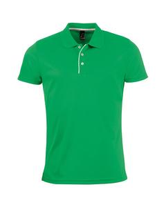 Sols Heren Performer Korte Mouw Pique Polo Shirt