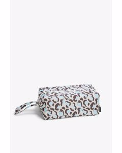 Zip Up Case Leopard Print