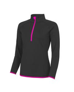 AWDis Just Cool Damen Sweatshirt mit Reißverschluss bis zur Brust