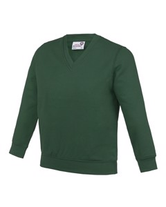 Awdis Academy Childrens/kids Junior V Neck School Jumper/sweatshirt (pack Of 2)