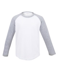 Skinni Minni Childrens/kids Long Sleeve Baseball T-shirt