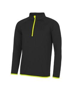 AWDis Just Cool Herren Sweatshirt mit Reißverschluss bis zur Brust